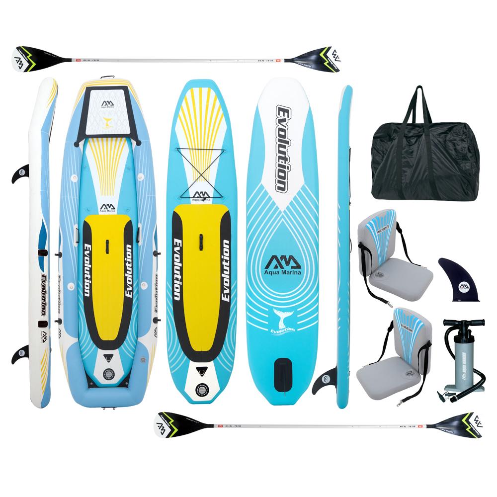 Paddleboard-i-kajak-Aqua-Marina-Evolution-2w1