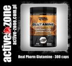 Real Pharm Glutamine 300 kaps - ACTIVE ZONE