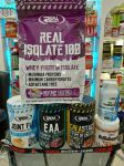 ZESTAW REAL PHARM Isolate 100 700g+Joint Flex400g+Whey Cream500g+Creastack 420g+EAA 420g-ACTIVE ZONE