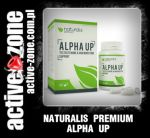 Naturals Premium ALPHA UP TESTOSTERONE & HGH BOOSTING SUPPORT 60 kaps - ACTIVE ZONE