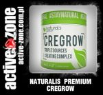 Naturals Premium CREGROW TRIPLE SOURCES CREATINE COMPLEX 300 g - ACTIVE ZONE