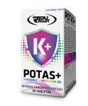 Real Pharm K+ (Potas+Magnez+Witamina B6) 90 tabl - ACTIVE ZONE