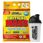 Applied Nutrition Zestaw Creatine Monohydrate 500g + Critical Mass 6000g + Shaker - ACTIVE ZONE