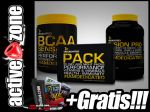 Dedicated ZESTAW BCAA Sensation 345g+PACK AM/PM 50 sasz. + Fusion Pro 2270g - ACTIVE ZONE