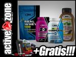 Real Pharm ZESTAW Real Whey 100 700g + Z-3 90 tabl + Max Complete 60 tabl + Sos Zero - ACTIVE ZONE