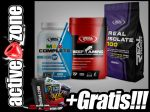 Real Pharm ZESTAW Max Complete 60 tabl+Beef Amino 300 tabl+Isolate 100 1,8kg - ACTIVE ZONE