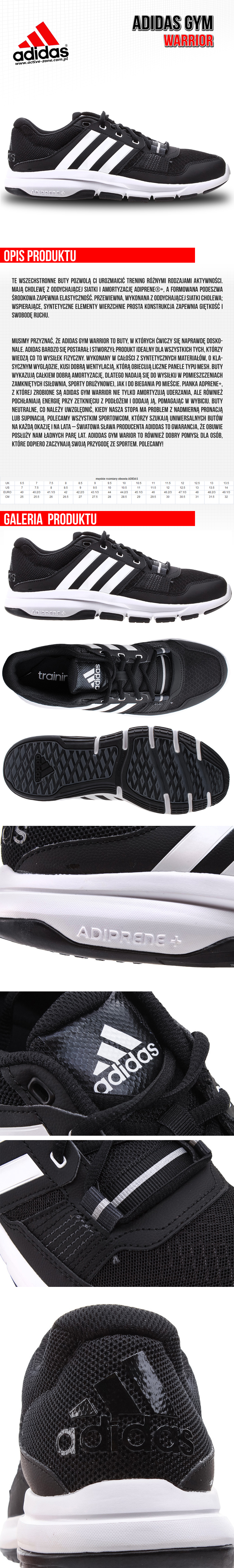 Adidas Gym Warrior 1