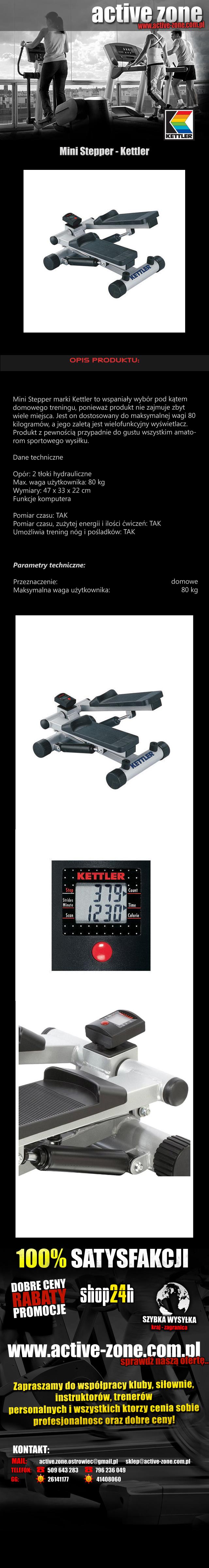 Mini Stepper - Kettler