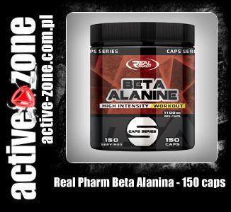 Real Pharm Beta Alanina 150 kaps - ACTIVE ZONE