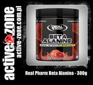 Real Pharm Beta Alanina 300 g - ACTIVE ZONE