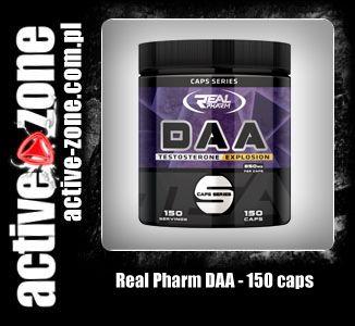 Real Pharm DAA 150 kaps - ACTIVE ZONE