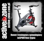 inSPORTline Rower treningowy spinningowy Signa - ACTIVE ZONE