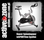 inSPORTline Rower Spinningowy Epsilon - ACTIVE ZONE
