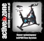 inSPORTline Rower spinningowy Baraton - ACTIVE ZONE