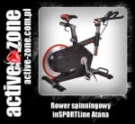 inSPORTLine Rower spinningowy Atana - ACTIVE ZONE